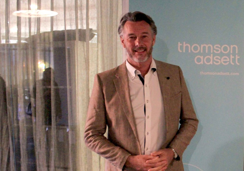 Barry Du Bois at our recent FOTI event
